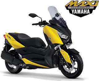Yamaha X Max, motor matic bercc besar yang handal dikelasnya