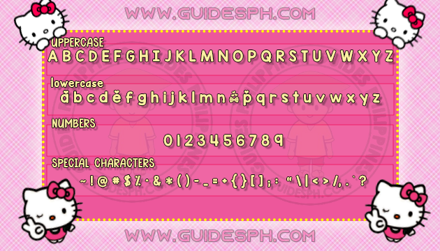 Mobile Font: Simple Font TTF, ITZ and APK Format