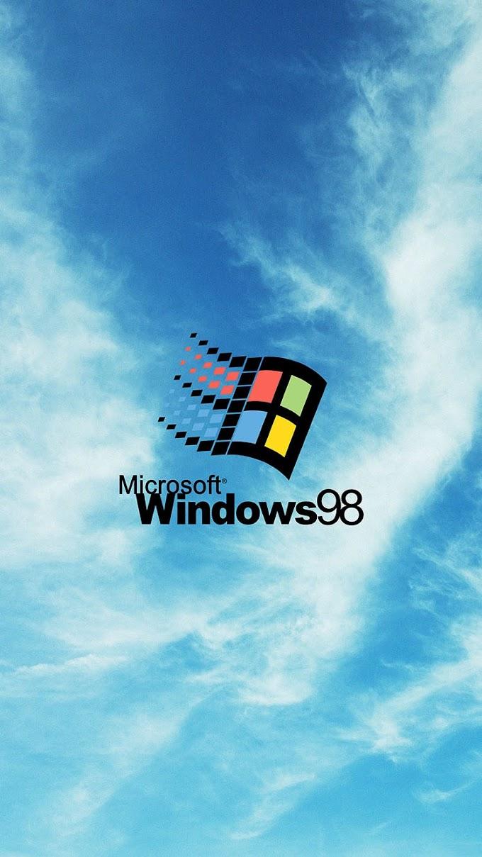 Logo Microsoft Windows 98
