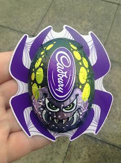 Cadbury crunchy spiders