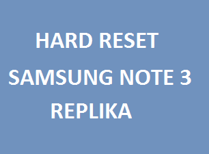 A complete tutorial on how to hard reset Samsung Note super copy can be found here.