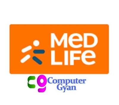 Medlife application In Computer Gyan