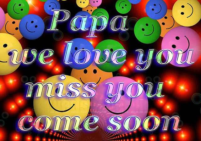 MISS YOU PAPA