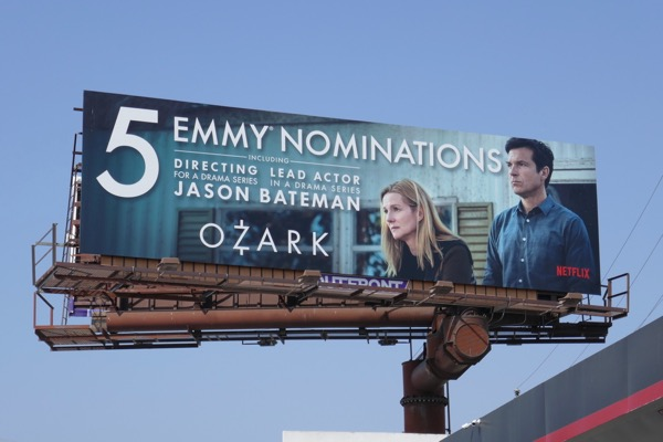 Ozark season 1 Emmy nominee billboard