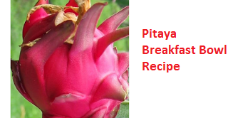 Pitaya Breakfast Bowl Recipe