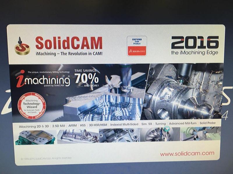 SolidCAM 2016 para SolidWorks