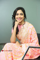 Actress Ritu Varma Pos in Beautiful Pink Anarkali Dress at at Keshava Movie Interview .COM 0189.JPG
