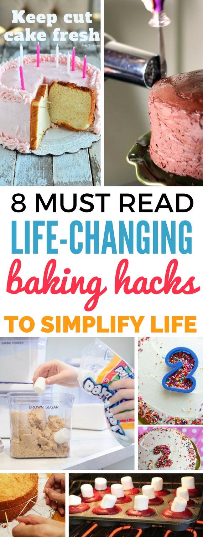 Life Changing Baking Hacks Tips