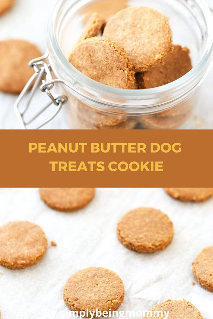 Peanut Butter Dog Treats Cookie
