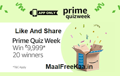 Amazon Prime Week 2 Answer