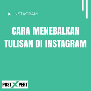 Cara Menebalkan Tulisan di Instagram Tanpa Aplikasi