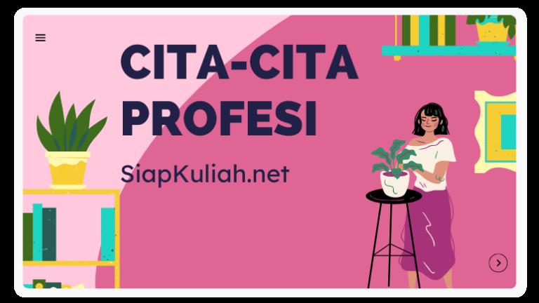 Cita-Cita Profesi Kupang