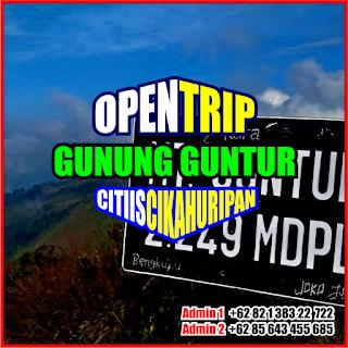 Open Trip Gunung Guntur 2021 Via Citiis - Cikahuripan 2H1M