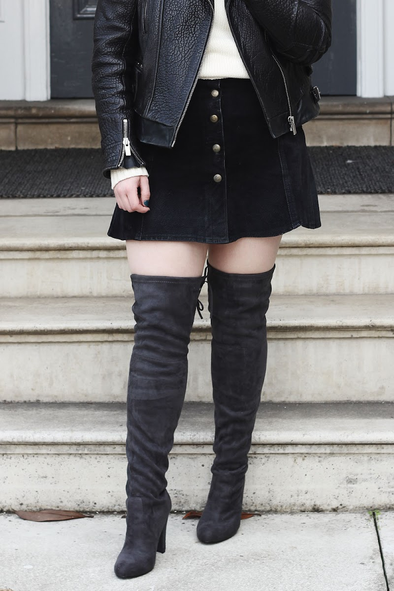 How to wear thigh high boots | www.itscohen.co.uk