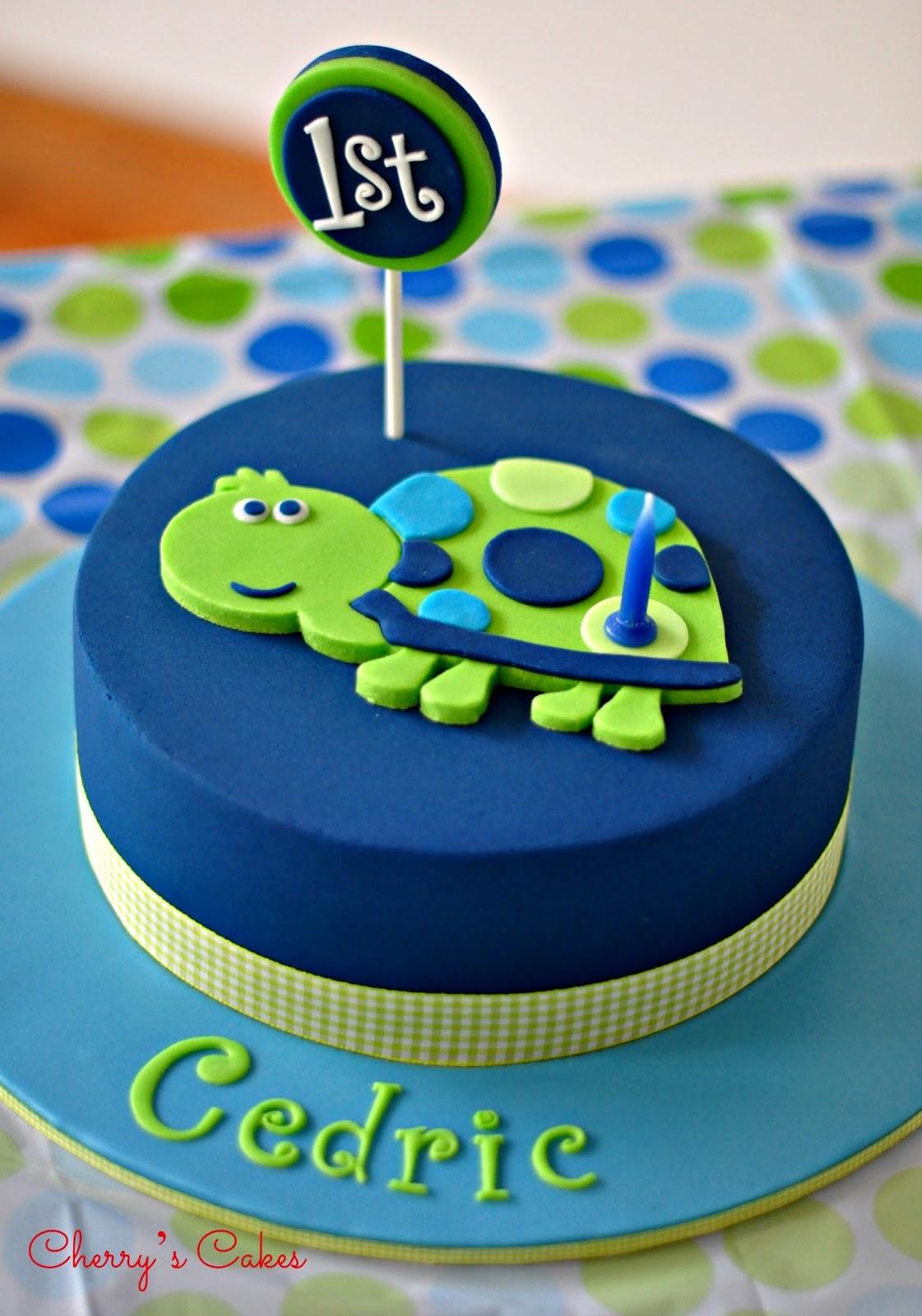 Cherry S Cakes Cedric Amp His Turtle