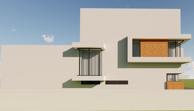 Rumah modern minimalis exterior tampak desai rumah idaman