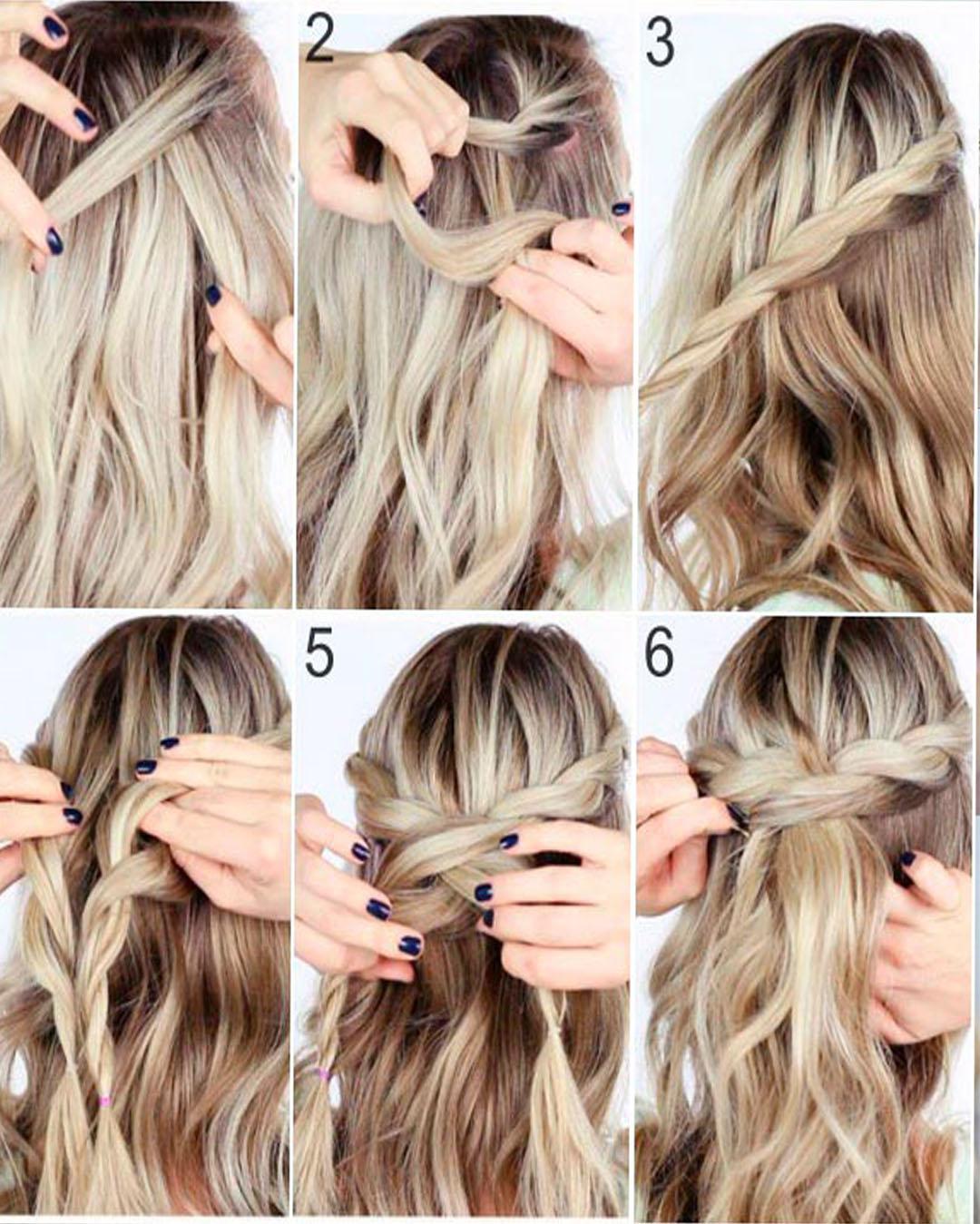 Easy Winter Hairstyles Step By Step Original Girlcheck