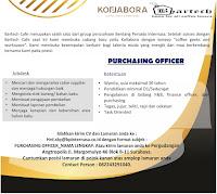 Karir Surabaya Terbaru di Bartech Cafe Januari 2020