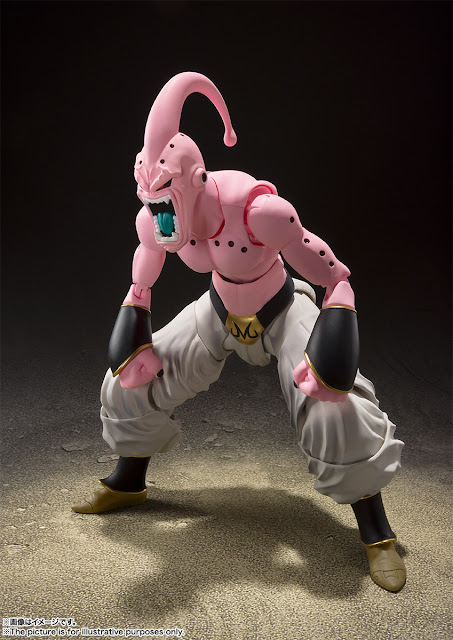 "S.H.Figuarts de Super Buu de ""Dragon Ball Z"" - Tamashii Nations"