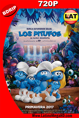 Los Pitufos 3: La Aldea Escondida (2017) Latino HD BDRip 720p ()