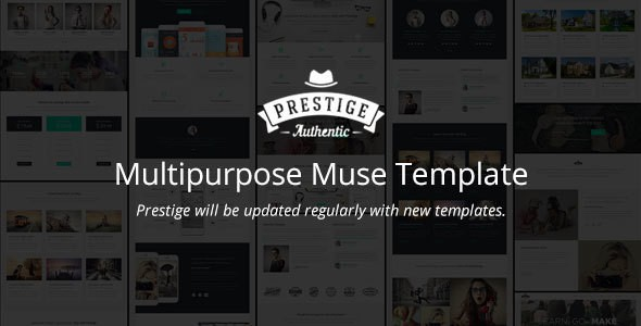 Clean and Modern Multipurpose Muse Template