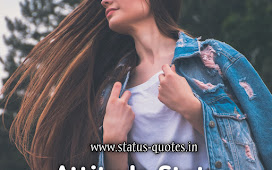 Attitude Status For Girl In Hindi For Instagram, Facebook 2021 || Girls Attitude Status