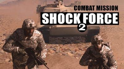 Imagem da capa do jogo Combat Mission Shock Force 2 PC