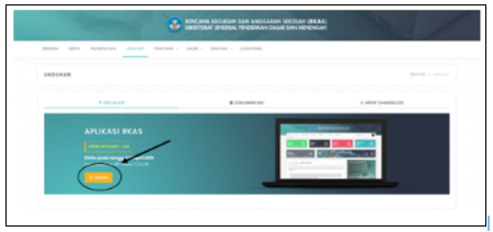Cara download Aplikasi ARKAS Versi 2.0