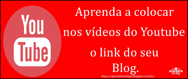 Link externo nos vídeo do youtube