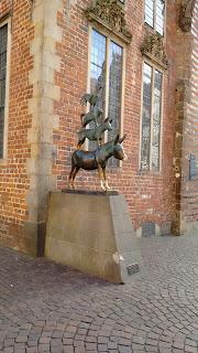 musicos de bremen estatua