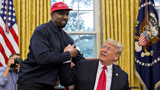 Donald Trump reacts to Kanye West's presidential bid
