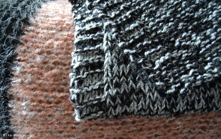 lana, punto, labor, chal, bufanda, cuello, jersey, vintage, handmade,