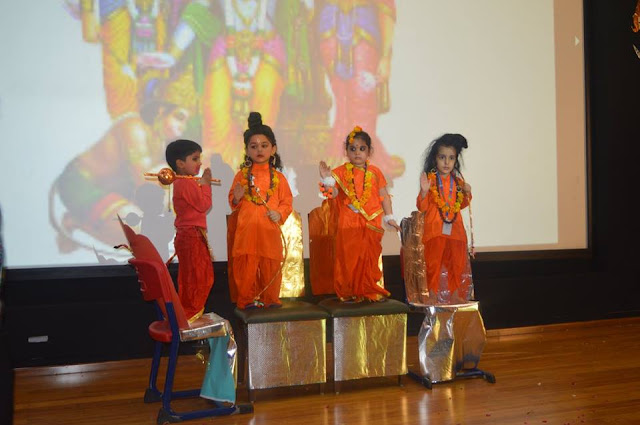 SRS International School celebrated Dusshera on 8th Oct, 2016