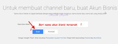 Cara Membuat Akun Bisnis (Merk) Channel Youtube Yang Benar 100% Berhasil