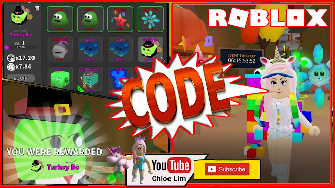 Roblox Ghost Simulator Gameplay! Code! EASY Thanksgiving Event that gives OP PET!