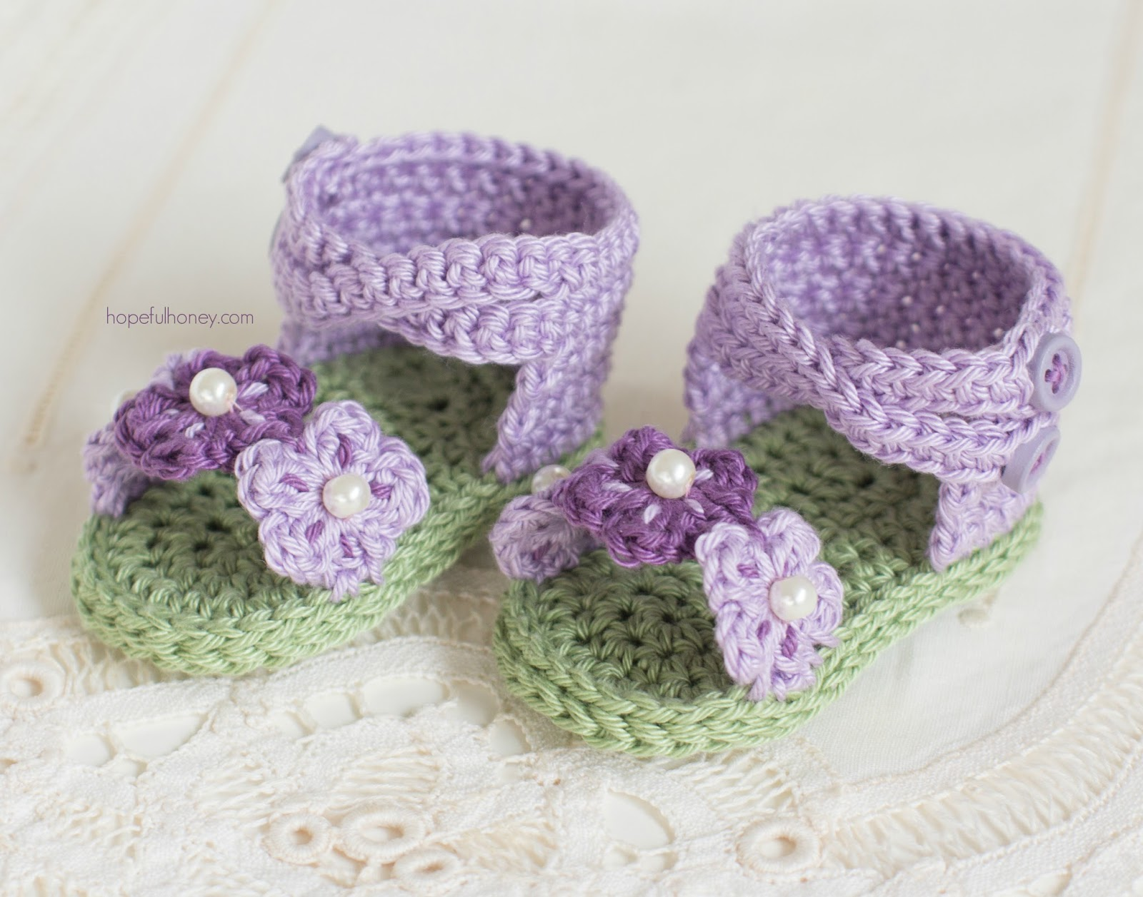 Hopeful Honey Craft, Crochet, Create: English Violet ...