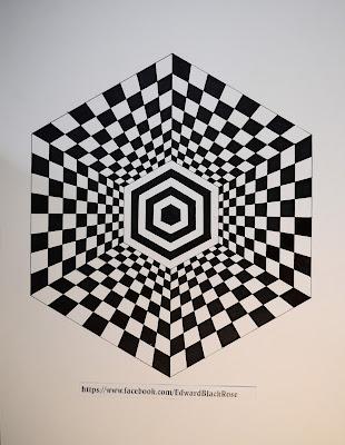Hexagonal drawing