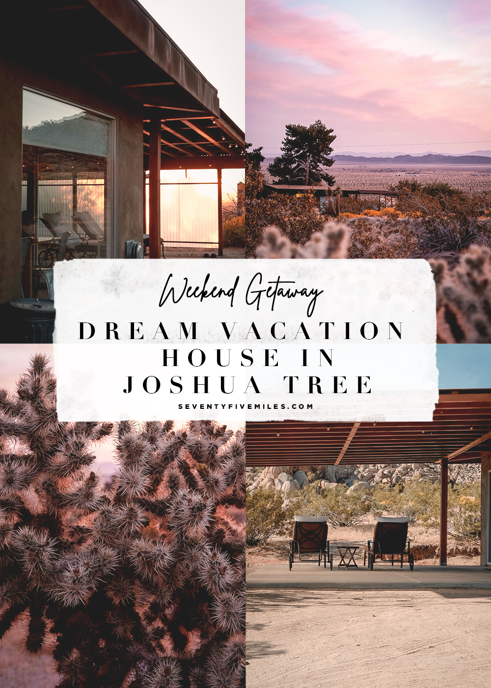 Weekend getaway to Joshua Tree