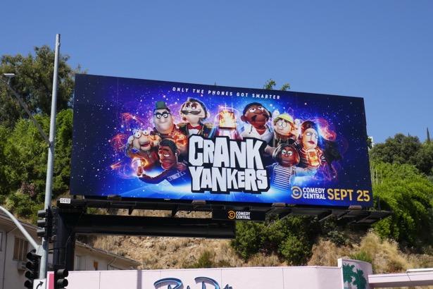 Crank Yankers series revival billboard