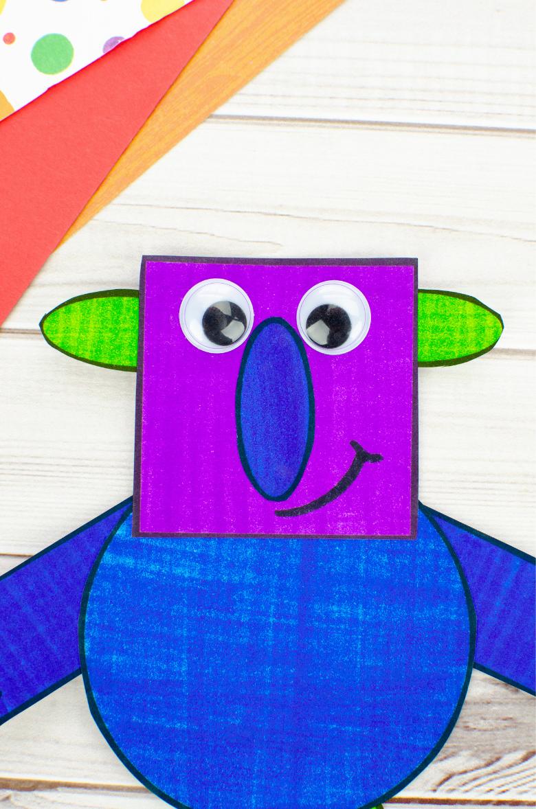 monster craft for kids