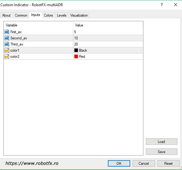 Multi ADR settings