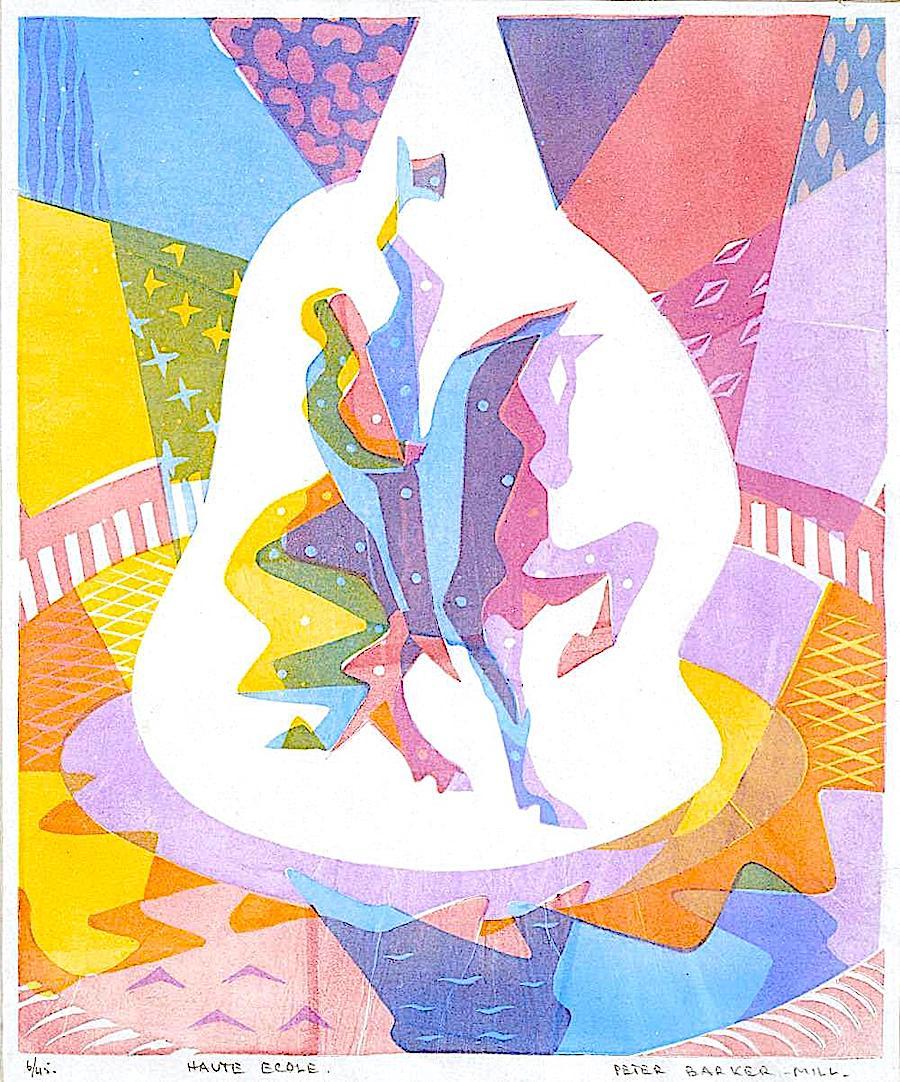 a Peter Barker-Mill print
