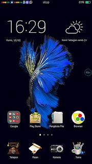 Tema iOS 10 untuk Oppo