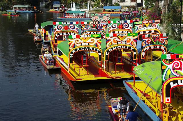 viajes para san Valentin, día del amor y la amistad Xochimilco