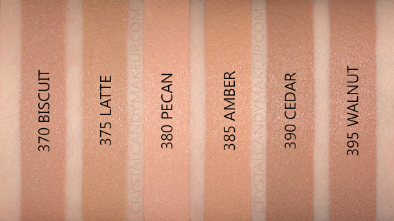 Correcteur Infallible Full Wear L'Oréal Paris Swatches Biscuit Pecan Ambre Cèdre