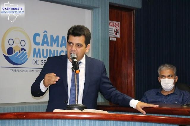 Senador Canedo: Presidente da Câmara diz que pretende trabalhar em sintonia com Executivo