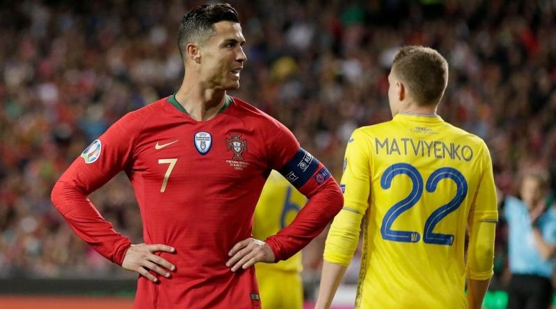 اوكرانيا تحقق فوز مثير على البرتغال