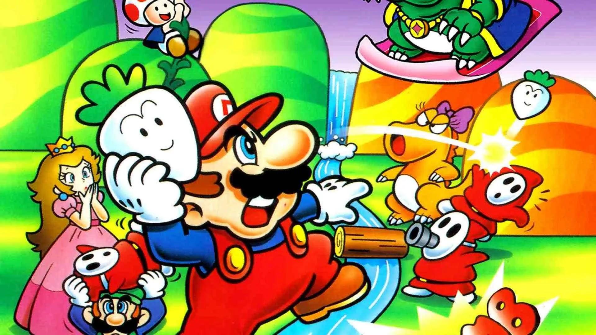 Super Mario Bros. 2 ở Mỹ khác rất nhiều so với bản gốc của Nintendo.