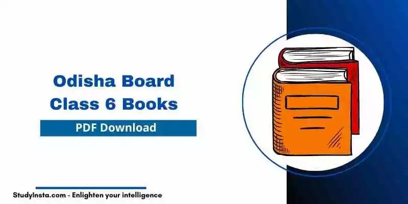 Odisha 6th Class History & Political Science Book PDF Download 2021