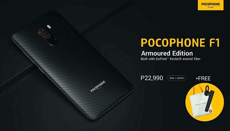 Xiaomi Pocophone F1 Armoured Edition Arriving in Philippines